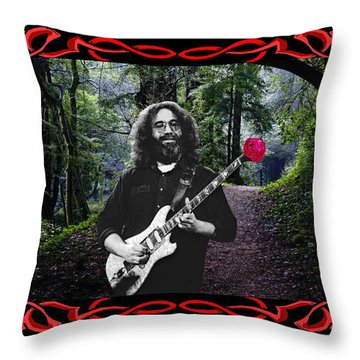 Throw Pillow featuring the photograph Jerry Road Rose 2 by Ben Upham