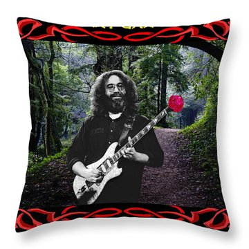 Throw Pillow featuring the photograph Jerry Road Rose 3 by Ben Upham