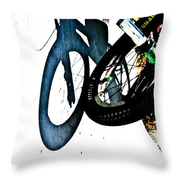 Jersey Barrier Throw Pillow