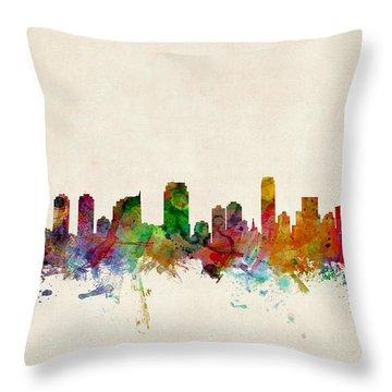 New Jersey Throw Pillows