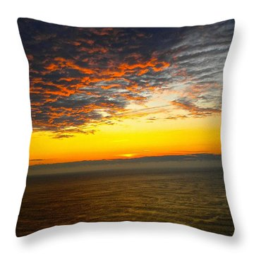 Jersey Morning Sky Throw Pillow