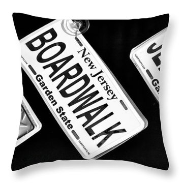 Jersey Shore Essentials Throw Pillow