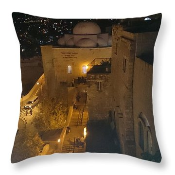 Jerusalem The Old City  Throw Pillow