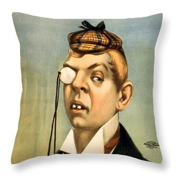 Jess Of The Bar Z Throw Pillow by Aged Pixel