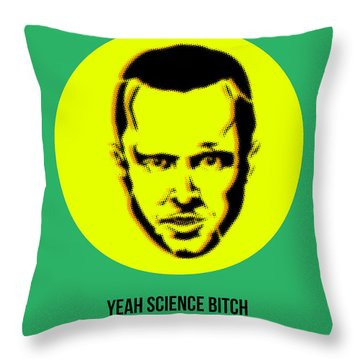 Jesse Breaking Bad Poster 2 Throw Pillow by Naxart Studio