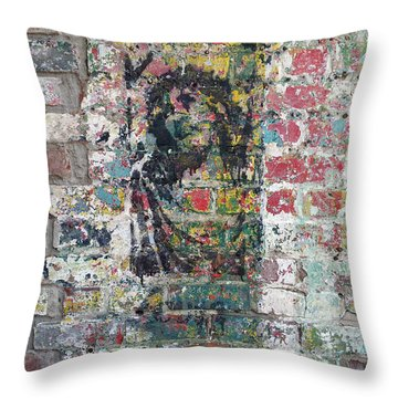 Jesus At Noda Throw Pillow