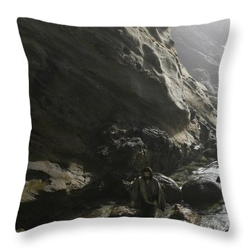 Jesus Christ- For I Know The Plans I Have For You Throw Pillow