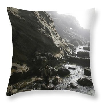 Jesus Christ- He Comforts Us In All Our Troubles Throw Pillow