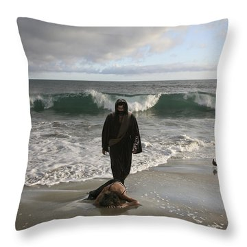 Jesus Christ- I Love You So Much Don't Cry I'm Here Throw Pillow