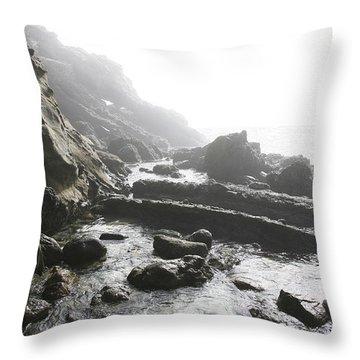 Jesus Christ- Walking Among Angel Mist Throw Pillow