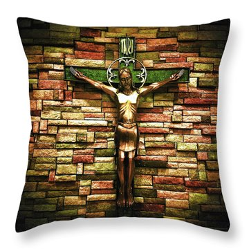 Jesus Is His Name Throw Pillow