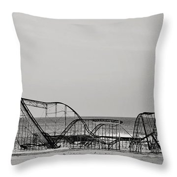 Jet Star  Throw Pillow