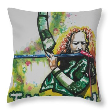Jethro Tull Throw Pillow