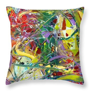 Jetsons Throw Pillow