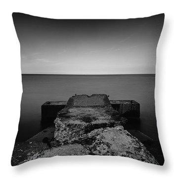 Jetty Throw Pillow by CJ Schmit