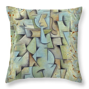 Jeune Fille Throw Pillow