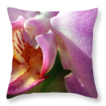Throw Pillow featuring the photograph Jewel by Greg Allore
