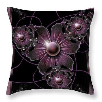 Jewel Of The Night Throw Pillow