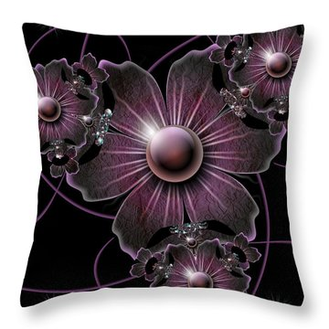Jewel Of The Night Throw Pillow