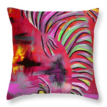Jewel Of The Orient #2 Throw Pillow