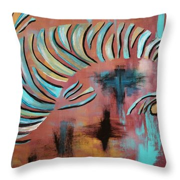 Jewel Of The Orient Throw Pillow