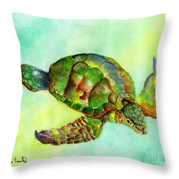 Jewel Of The Sea Throw Pillow