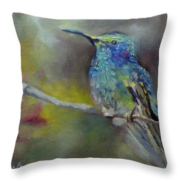 Jewels Of Nature Throw Pillow by Chris Brandley