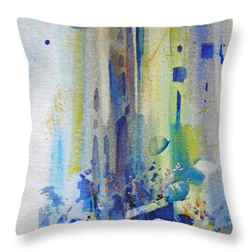 Jewels Of The Islands Throw Pillow