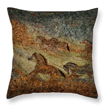 Jewels Of The Nile Throw Pillow