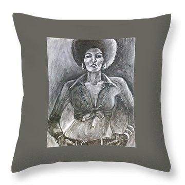 Jezebel Throw Pillow