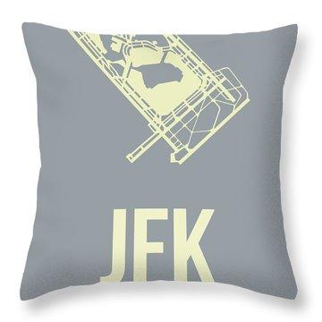 Jfk Throw Pillows