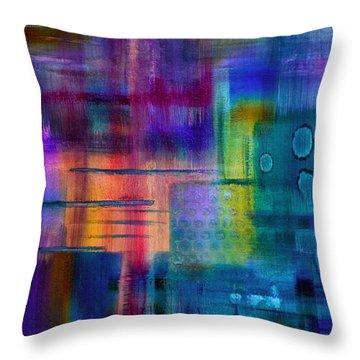 Jibe Joist II Throw Pillow by Moon Stumpp