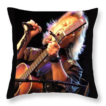 Jim Lauderdale Throw Pillow by Julie Turner