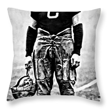 Jim Thorpe Throw Pillow