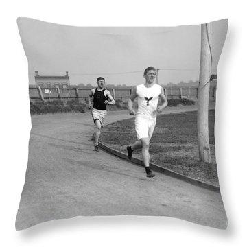 Jim Thorpe Throw Pillow by Granger