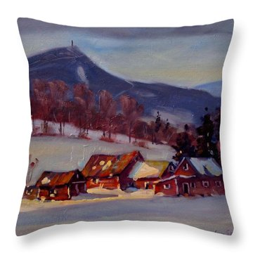 Jimmie's Place Throw Pillow