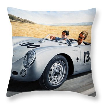 Speed Throw Pillows