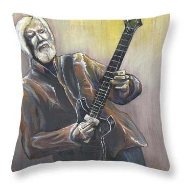 'jimmy Herring' Throw Pillow