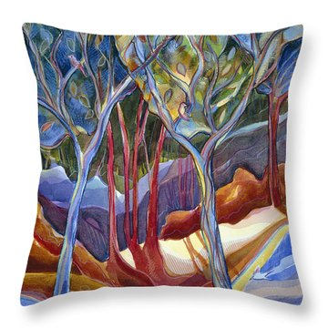 Jn126 Shelter 2 Throw Pillow by Jen Norton