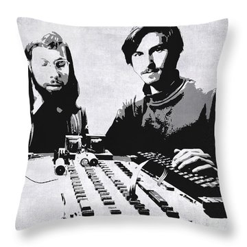 Silicon Valley Throw Pillows