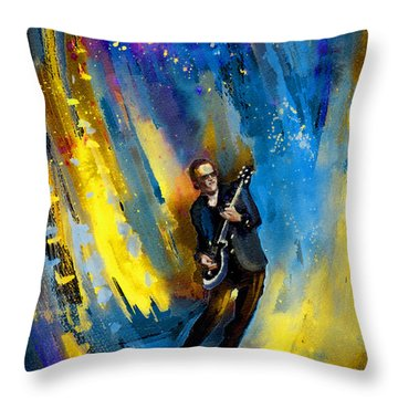 Joe Bonamassa 03 Throw Pillow