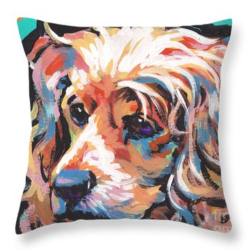 Cocker Spaniel Throw Pillows