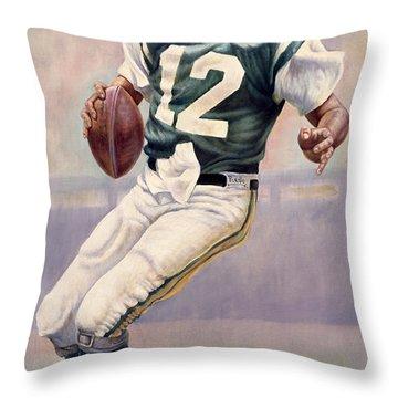 Joe Namath Throw Pillow
