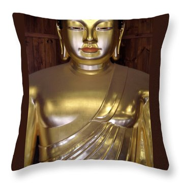 Jogyesa Buddha Throw Pillow