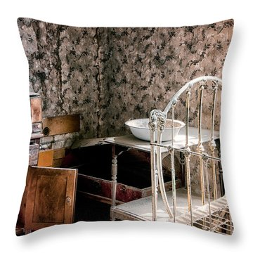 Johl House Throw Pillow by Cat Connor