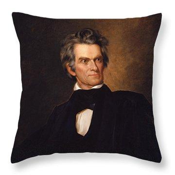 John C Calhoun  Throw Pillow by War Is Hell Store