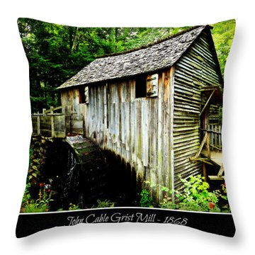 Millrace Throw Pillows