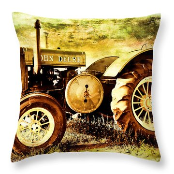 John Deere Sunlit Throw Pillow