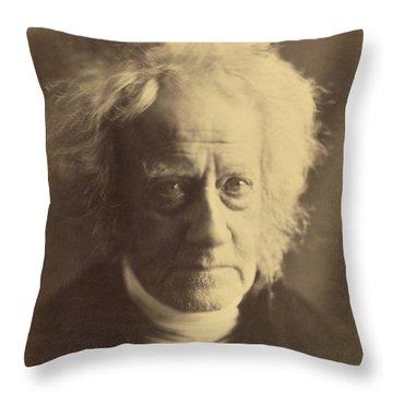 John Frederick William Herschel 1867 Throw Pillow by Getty Research Institute