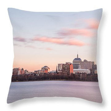 John Hancock In Pastel Throw Pillow